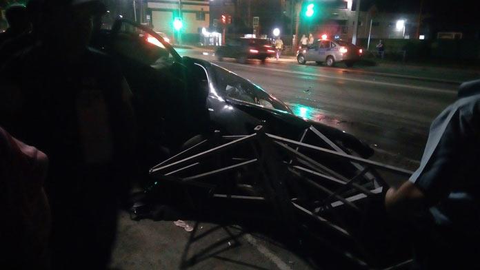 Белово, авария на перекрестке пер. Почтовый и ул. Пролетарская