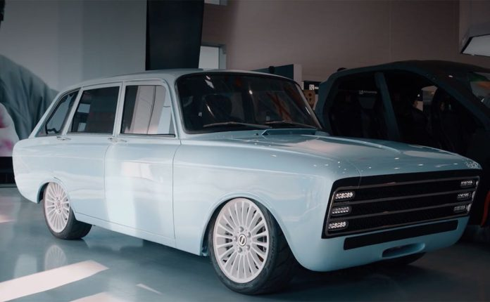 «Калашников» представил электромобиль на базе Иж «Комби»