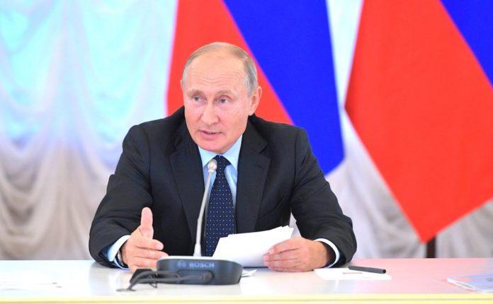 Владимир Путин в Кузбассе 27 августа 2018