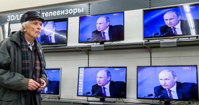 Путин на ТВ