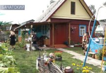 Садовые фантазии супругов Воронковых, Белово, Бачатский