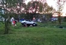 Пьяный кузбассовец устроил лихой заезд по тротуару в Междуреченске