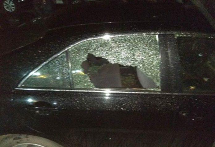 3 сентября в Новокузнецке расстреляли автомобиль