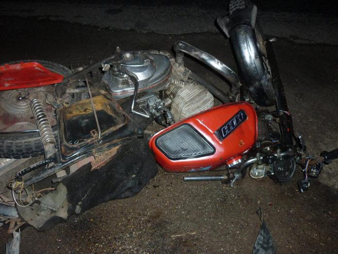 На кузбасской трассе в ДТП погиб 19-летний мотоциклист