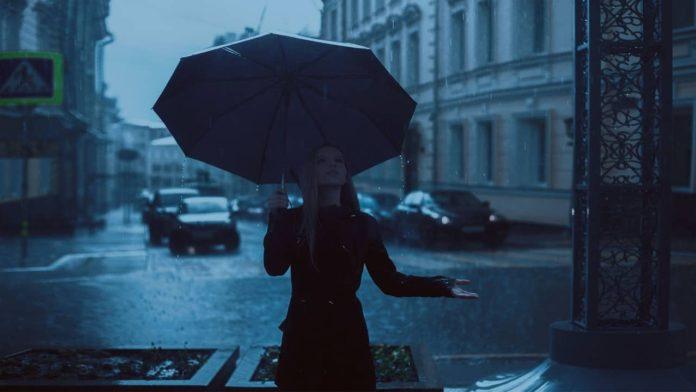 Осень, дождь