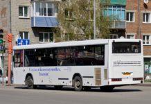 Белово, автобус №1 у привокзальной