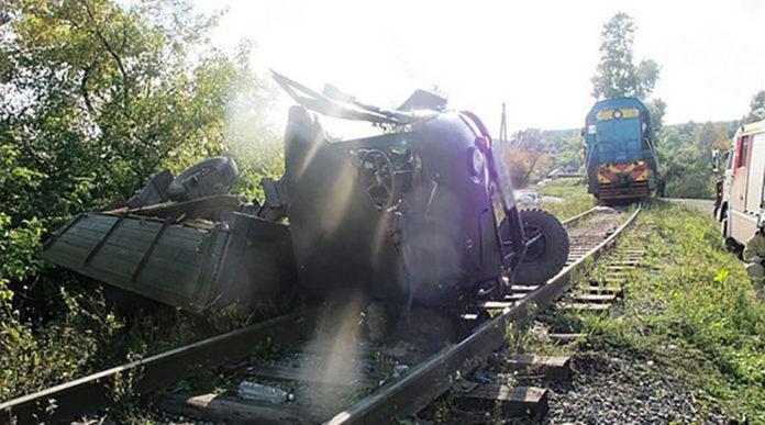В Прокопьевске двое погибли в ДТП на железной дороге