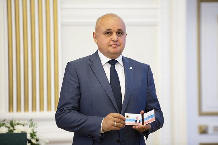 Сергей Цивилев, инаугурация