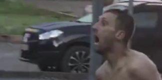 в Кемерове бегал и орал голый мужик