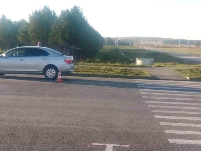 В Бачатском автомобиль сбил ребенка
