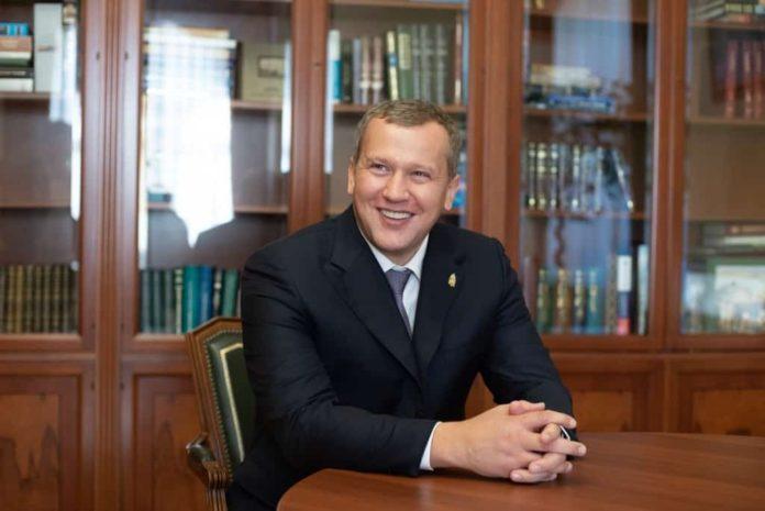 Сергей Петрович Морозов, врио губератора Астраханской области