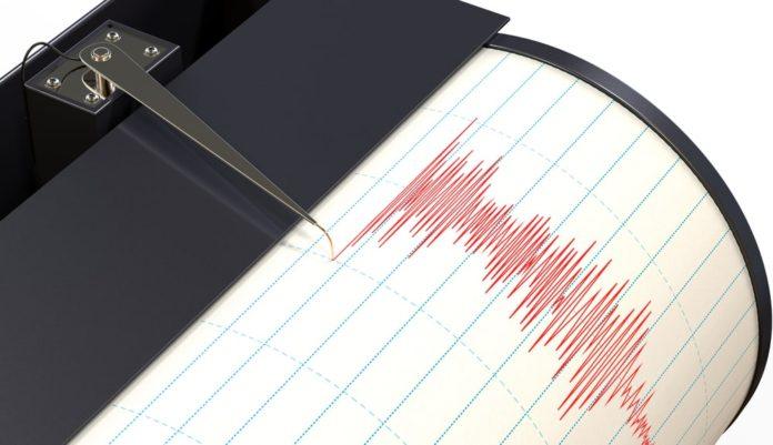 Сейсмограф, землетрясение