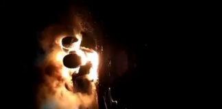 В Кузбассе на разрезе Заречный сгорел БелАЗ