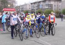 Велопробег в Белове, давший старт отчету 1000 дней до 300-летия Кузбасса