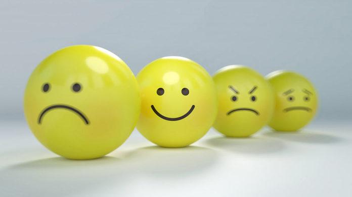 Смайлы, гнев, радость, злость