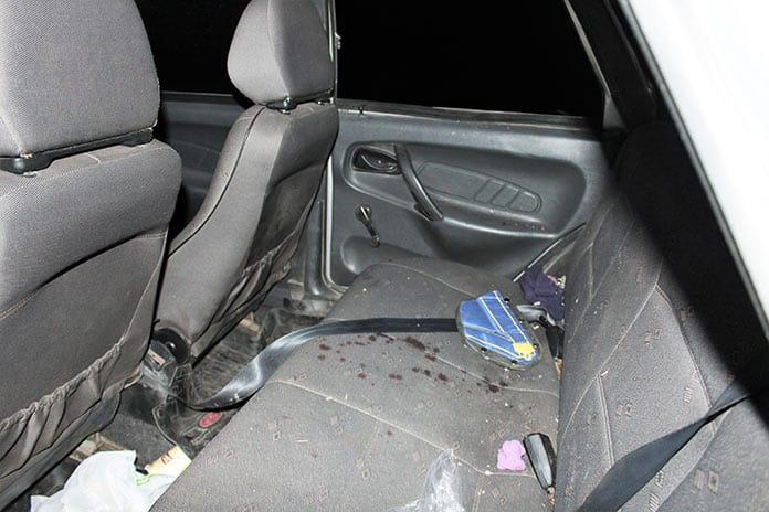 В ДТП доски пронзили автомобиль, Беловский район