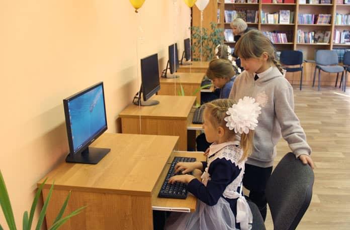 Сельская библиотека в Беловском районе получила новый статус
