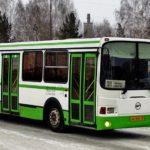 Автобус, зима