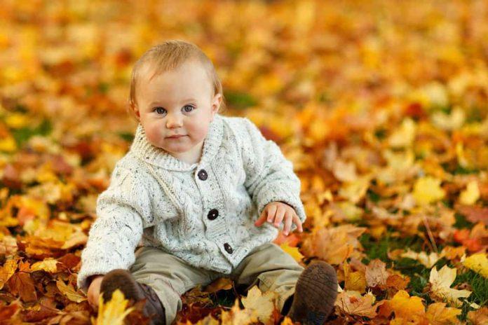Осень, ребенок