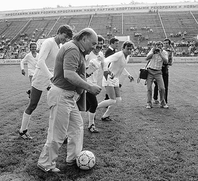 Евгений Леонов и Николай Караченцов в Кузбассе, 1986 год