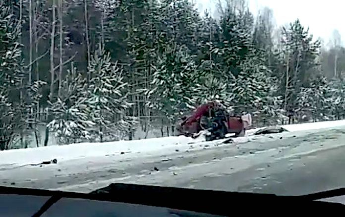 ДТП на Алтайской трассе 18 ноября 2018 г. Погибли женщина-водитель и ее 7-летняя дочь