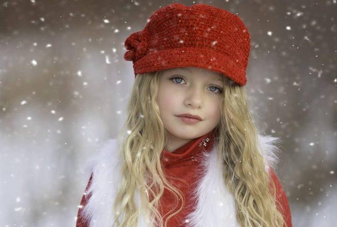 Зима, девочка, девушка, снег