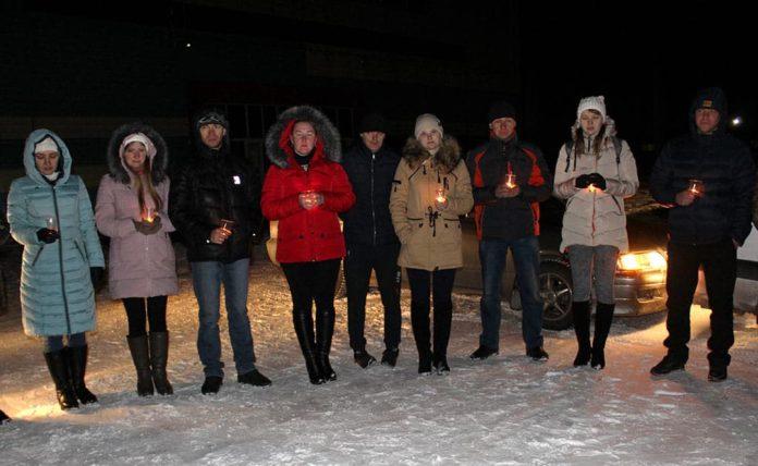 День памяти жертв ДТП в Белове, 2018 г