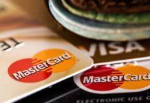 Банковская карта, Visa, Master Card