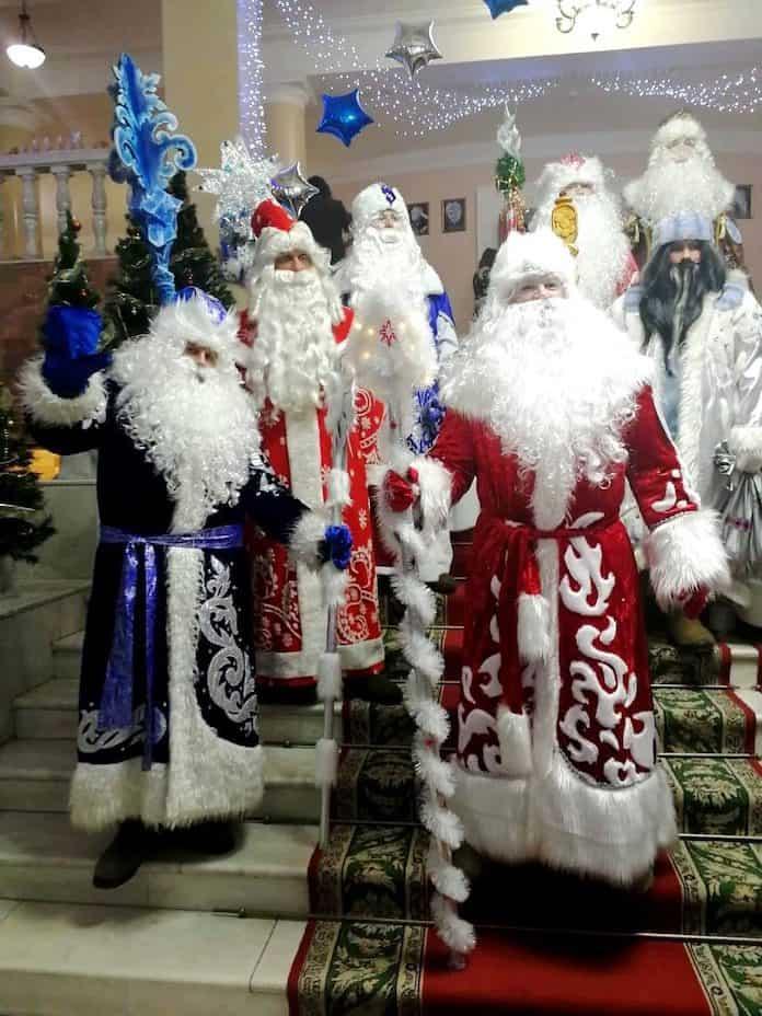 Лучший Дед Мороз Кузбасса 2018 из Белово Иван Акентьев