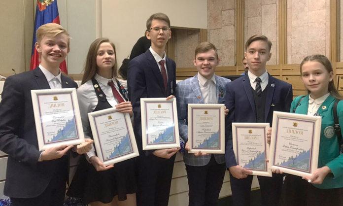 Юные беловчане лауреаты премии «Достижения юных-2018»