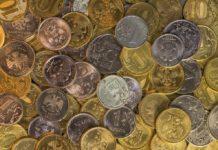 Деньги, рубли, монеты, мелочь
