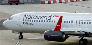 Nordwind, самолет,