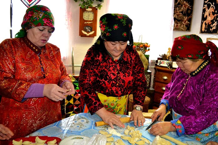 Национальный телеутский праздник «Пельменек», Белово 2019