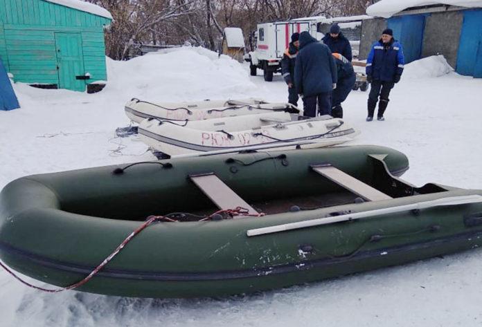 На Беловском водохранилище обнаружено тело одного из погибших на снегоходе
