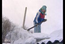 Снежный десант в Беловском районе