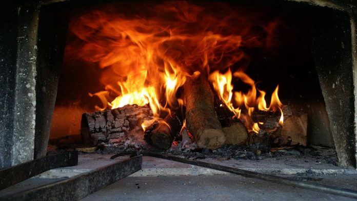 Печь, топка, огонь, пожар