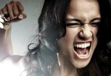 ярость, гнев, женщина