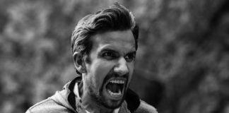 гнев, ярость, мужчина, крик