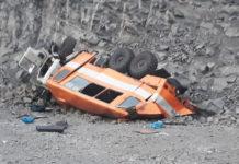 На разрезе Распадский разбилась вахтовка - шесть погибших