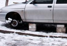 ВАЗ-2110 без колес