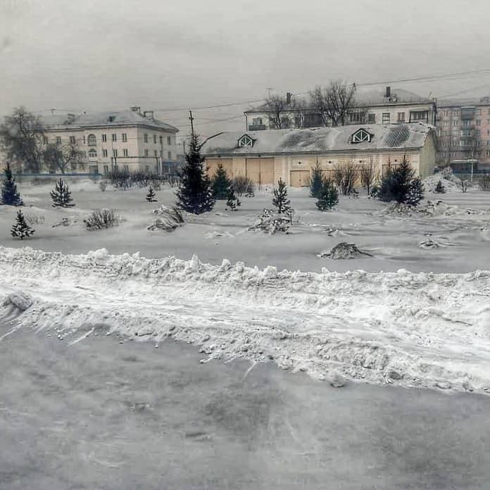 Черный снег, угольный ад, Кузбасс, Прокопьевск
