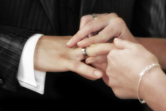 Свадьба, обручальные кольца, кольцо, брак