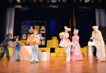 «Все мыши любят сыр» спектакль в КЦ «Бачатский»