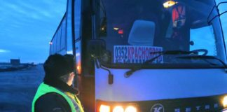 Автобус «Красноярск – Бишкек»