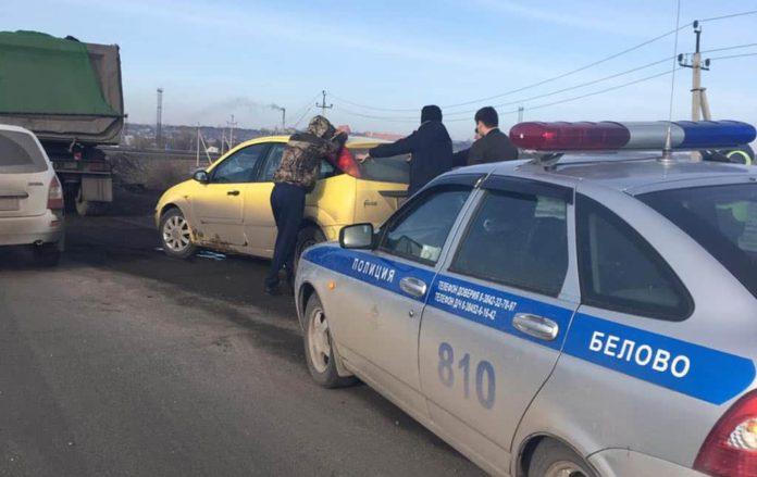 В Белове экипаж ДПС задержал автомобиль с наркотиками