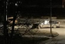 Ночное ДТП в Бачатском, 1 апреля 2019 г