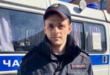 Андрей Минасян, участковый уполномоченный г. Белово