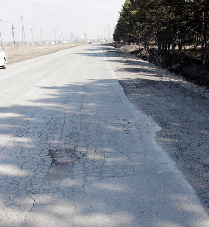 Объездная дорога, Белово