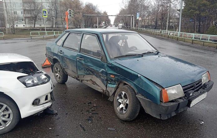 ДТП в Краснобродском, 18 апреля 2019 г