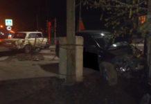 Пьяное ДТП в Белово ночью 2 мая 2019 г